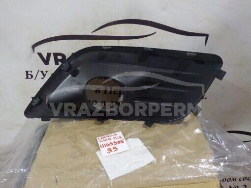 Решетка бампера переднего правая (под ПТФ) VAZ Lada Largus 2011-2020  8450000252