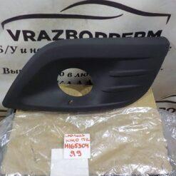 Решетка бампера переднего левая (под ПТФ) VAZ Lada Largus 2011-2020 8450000253 1