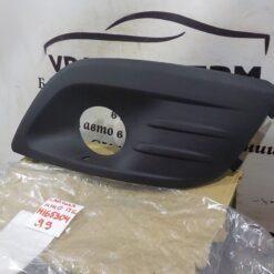 Решетка бампера переднего левая (под ПТФ) VAZ Lada Largus 2011-2020 8450000253 2
