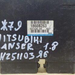 Блок управления двигателем (ЭБУ/мозги) Mitsubishi Lancer (CX,CY) 2007>  1860B263 1
