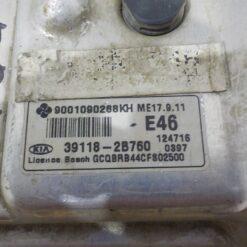 Блок управления двигателем (ЭБУ/мозги) Kia RIO 2011-2017  391182B760 6