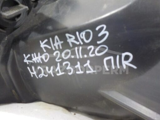 Фара правая перед. Kia RIO 2011-2017  921024X000, 1231103RMLDM