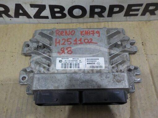 Блок управления двигателем (ЭБУ/мозги) Renault Logan 2005-2014  8200856659, 8200598393