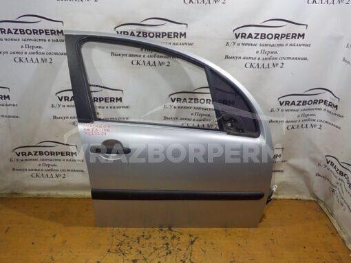 Дверь передняя правая Citroen C3 2002-2009  9004V1, 8545Y0, 9035P2, 9202A1, 655936, 9202A2