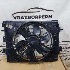 Вентилятор радиатора (диффузор) Renault Logan II 2014>  214816703R, 214811897R, 214818009R