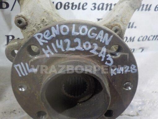 Кулак поворотный передний левый прав. Renault Logan 2005-2014  6001548864
