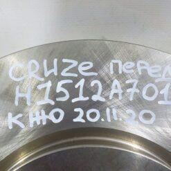 Диск тормозной передний Chevrolet Cruze 2009-2016  13502051, 13502052, 19347596, 13502825, 0569076, 13503988, 19372202, 0569070 3