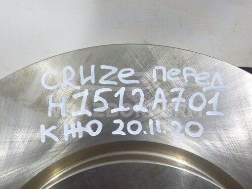 Диск тормозной передний Chevrolet Cruze 2009-2016  13502051, 13502052, 19347596, 13502825, 0569076, 13503988, 19372202, 0569070