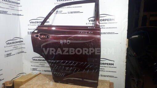 Дверь задняя правая Lexus RX 350/450H 2009-2015  6700348130