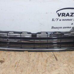 Решетка бампера переднего центр. Toyota Highlander III 2013>  531120E120