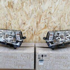 Фары (комплект) Renault Logan II 2014>  260607796R, 260609450R 260106223R, 260105559R