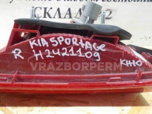 Фонарь задний правый внутренний (в крышку) Kia Sportage 2016>  92406F1000
