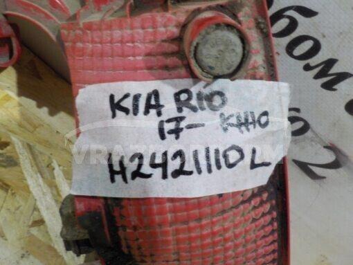 Фонарь задний левый (в бампер) Kia RIO 2017>  92405H0000