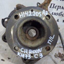 Кулак поворотный передний левый Citroen C3 2002-2009  364691, 1607557480, 335086, 0000335086, 0000335072, 330776,9638720180