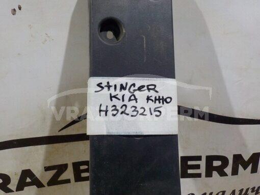 Накладка бампера переднего (под номер) Kia Stinger 2017>  86519J5600