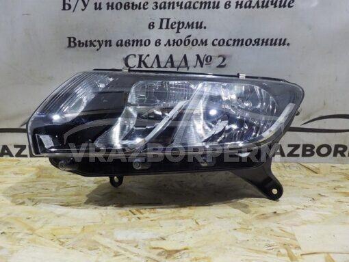 Фара левая Renault Logan II 2014>  260607796R, 260609450R