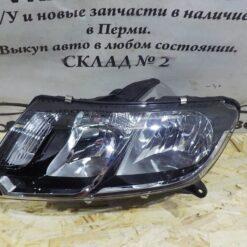 Фара левая Renault Logan II 2014> 260607796R, 260609450R 1