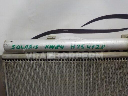 Радиатор кондиционера Hyundai Solaris 2010-2017  976061R000, 976064L000