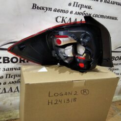 Фонарь задний правый Renault Logan II 2014> 265501454R 5