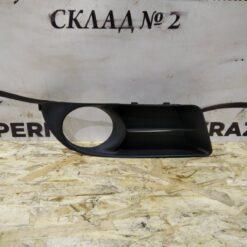 Решетка бампера переднего правая (под ПТФ) Toyota Corolla E12 2001-2007  5212702150, 5212712150