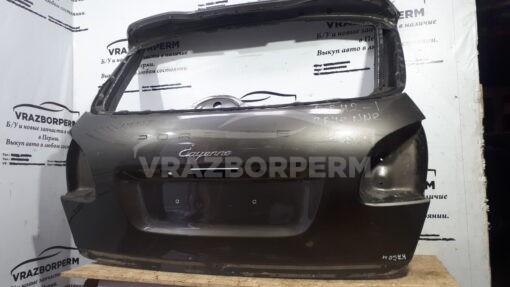 Дверь багажника зад. Porsche Cayenne 2010-2017  95851201104GRV