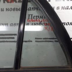 Стекло двери задней левой глухое (форточка) Toyota Corolla E12 2001-2007  6812402070