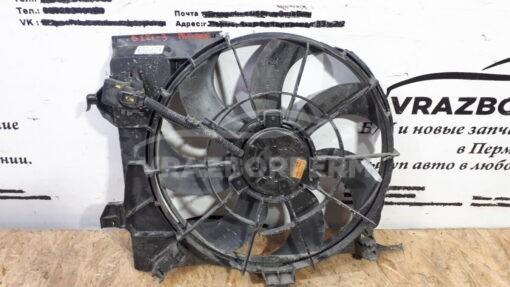 Вентилятор радиатора (диффузор) перед. центр. Hyundai Solaris 2010-2017  253804Lxxx