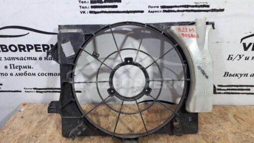 Кожух вентилятора (диффузор) перед. Hyundai Solaris 2010-2017  253804LXXX