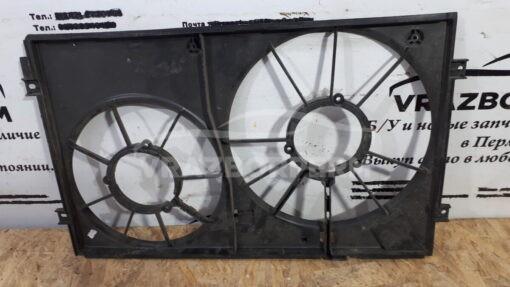 Кожух вентилятора (диффузор) перед. Volkswagen Passat [B7] 2011-2015  1k0121207