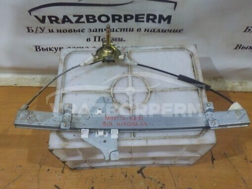 Стеклоподъемник механ. задний правый Chevrolet Lacetti 2003-2013  96548166, 94566243