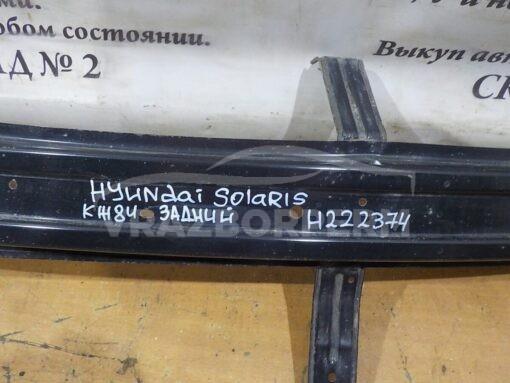 Усилитель заднего бампера Hyundai Solaris 2010-2017  866304L000