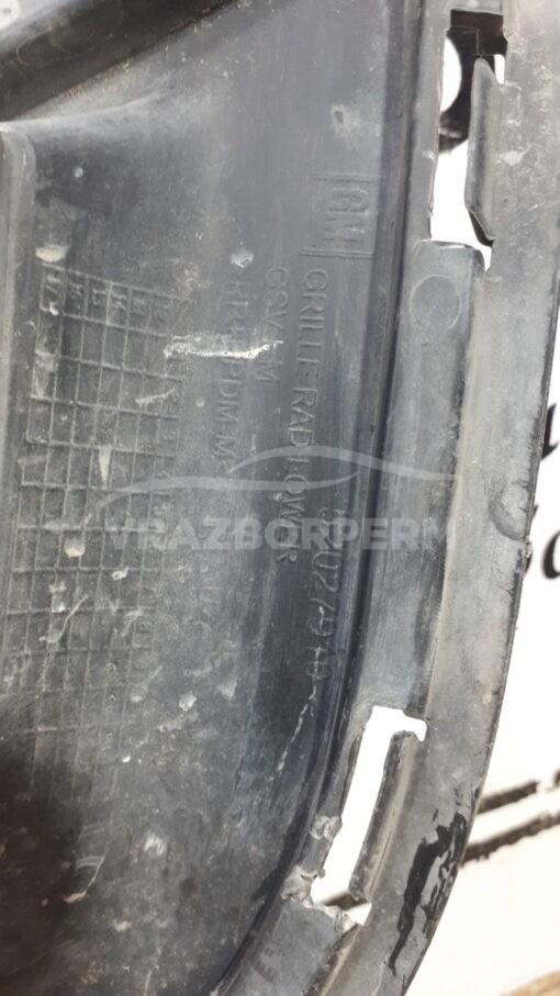 Решетка бампера переднего центральная (без ПТФ) Chevrolet Cobalt 2011-2015  52027910