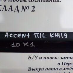 Накладка двери (молдинг) передн. лев. Hyundai Accent II (+ТАГАЗ) 2000-2012 8772125000CA, 8772125000 1