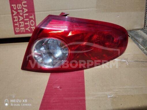 Фонарь задний правый наружный (в крыло) Chevrolet Lacetti 2003-2013  96387725, 96551195
