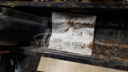 Усилитель заднего бампера Hyundai Getz 2002-2010  866301C310