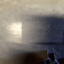 Решетка бампера переднего центральная (без ПТФ) Kia Soul 2009-2014 865612k000 3