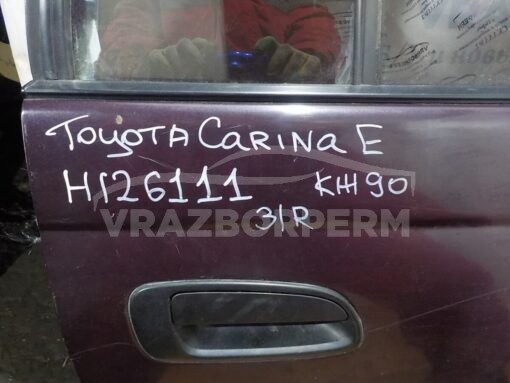 Дверь задняя правая Toyota Carina E 1992-1997  6700320650, 6700305010, 9018906203, 6700320652