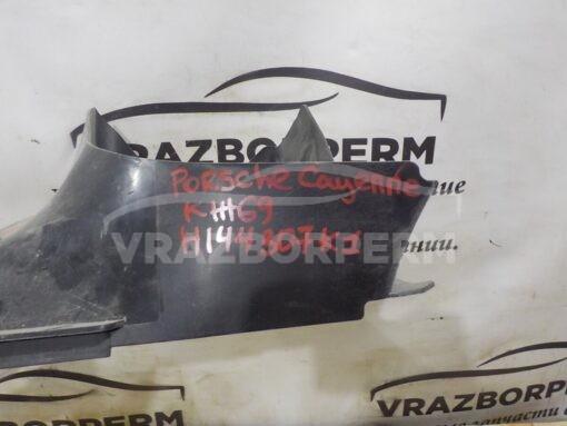 Дефлектор (воздуховод) интеркулера лев. Porsche Cayenne 2010-2017  7P5117335D