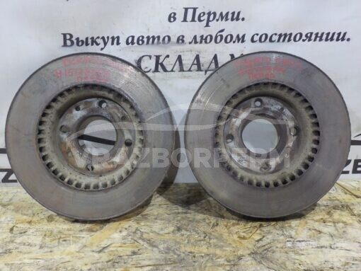 Диск тормозной передний Kia Cerato 2004-2008  517122F100, 517122F000, 517122D310