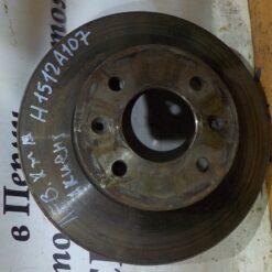 Диск тормозной передний Hyundai Accent II (+ТАГАЗ) 2000-2012 5171225061, 5171225011, 5171225060, 4411516LUEC 1