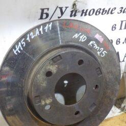 Диск тормозной передний Mitsubishi Lancer (CX,CY) 2007> 4615A115, 4615A190, MN116329, MN116330 1