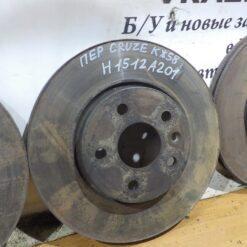Диск тормозной передний Chevrolet Cruze 2009-2016 13502045, 19372200, 19372201, 19373904, 13502824 1