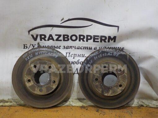 Диск тормозной передний Nissan X-Trail (T30) 2001-2006  402063Y502, 402064U107, D02063Y50BVA, 402063Y503