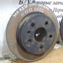 Диск тормозной задний Opel Insignia 2008-2017 569127, 19372209, 19347602 1