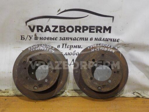 Диск тормозной задний Mitsubishi Lancer (CS/Classic) 2003-2008  MB699964,  MB668083