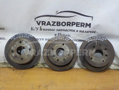 Диск тормозной задний Chevrolet Lacetti 2003-2013  96549630, 19372232, 96430670, 96549629, 19347612