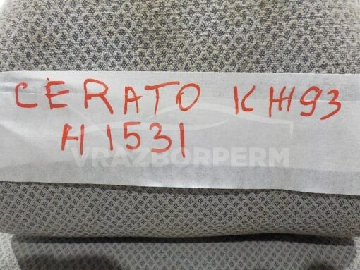 Сиденье переднее левое Kia Cerato 2004-2008  883052F100372, 881012F000372, 885032F000IM