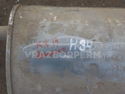 Глушитель основной Hyundai Accent II (+ТАГАЗ) 2000-2012  2870025000, 2870025060