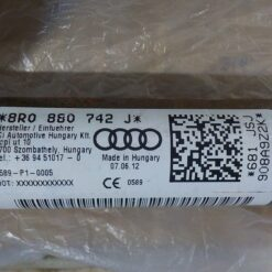 Подушка безопасности (AIR BAG) боковая (шторка) прав. Audi Q5 [8R] 2008-2017 8R0880742J, 8R0880742H 4