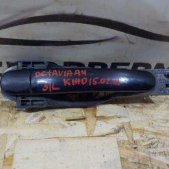 Ручка двери задней левой (наружная) Skoda Octavia (A4 1U-) 2000-2011  6Y0837885, 3B0837207G, 3B0837207CGRU